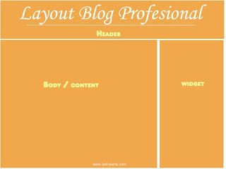 Layout blog profesional