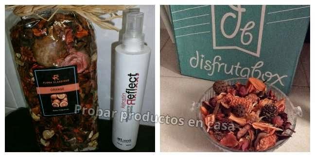 Disfrutabox, keratina y flores secas