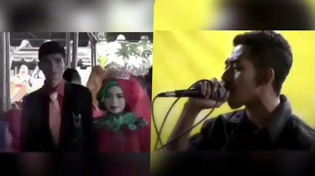 Nyanyi di Pernikahan Mantan, Suara Pria Ini Berhasil Buat Keluarga Mempelai Banjir Air Mata
