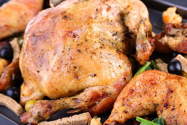دجاج مشوي مثل المطاعم في 30 دقيقة