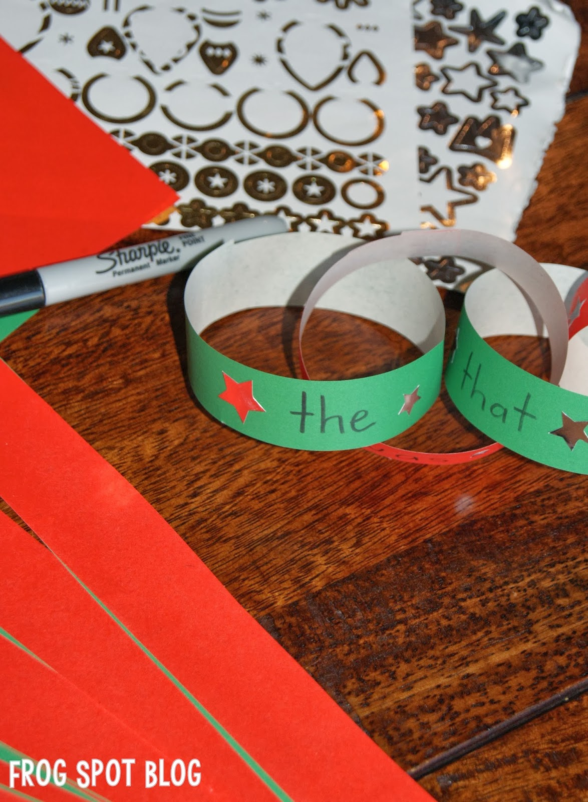 A Festive Spelling Word Activity
