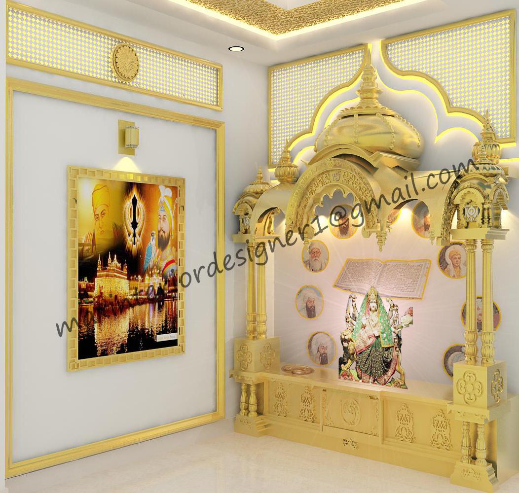 ideas for profile pictures on facebook - 3D Interior Designer Pooja Room
