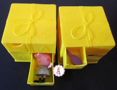 Желтая коробка Свинка Пеппа