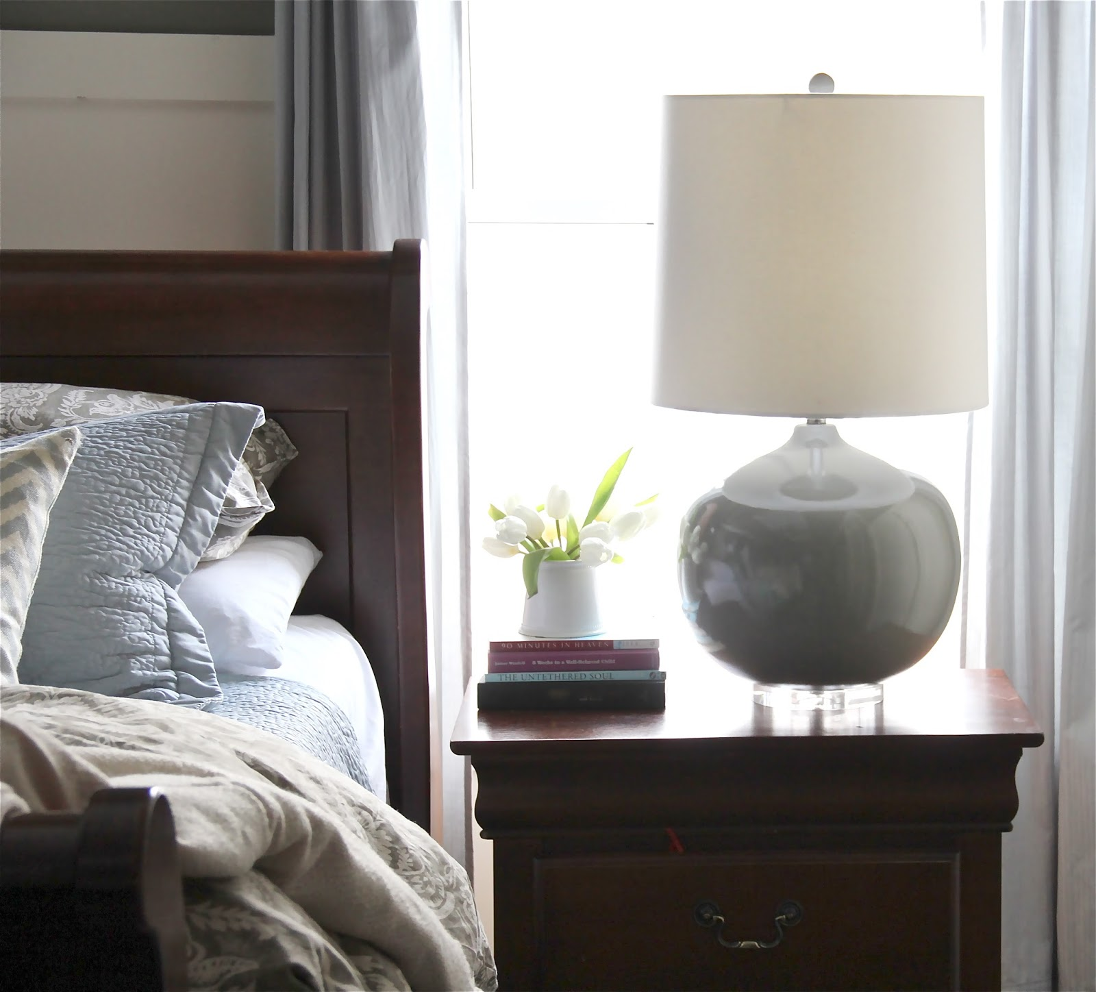 The Yellow Cape Cod Bedroom Makeover Before And After A: The Yellow Cape Cod: Giveaway And Reveal! My Master