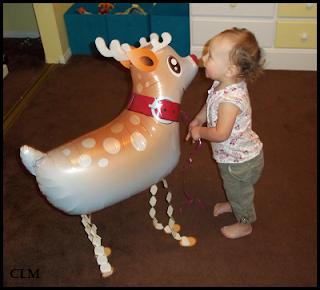 Balloon Reindeer