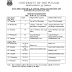 Datesheet For The LLB. Part-3 Annual Examination 2016 Punjab Univeristy