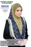 TUDUNG NUR KASIH SHIBA SAIZ XL