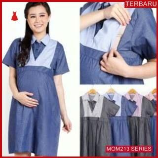 MOM213D15 Dress Hamil Menyusui Marsha Kantor Dresshamil Ibu Hamil