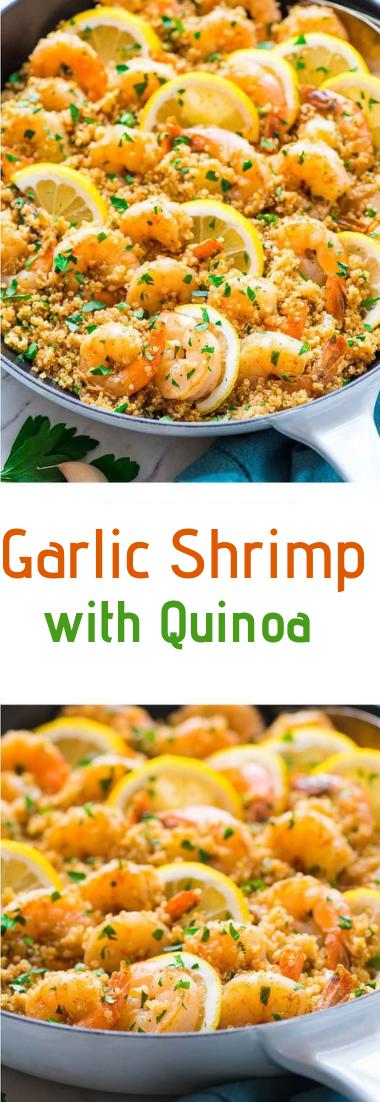 Garlic Shrimp with Quinoa