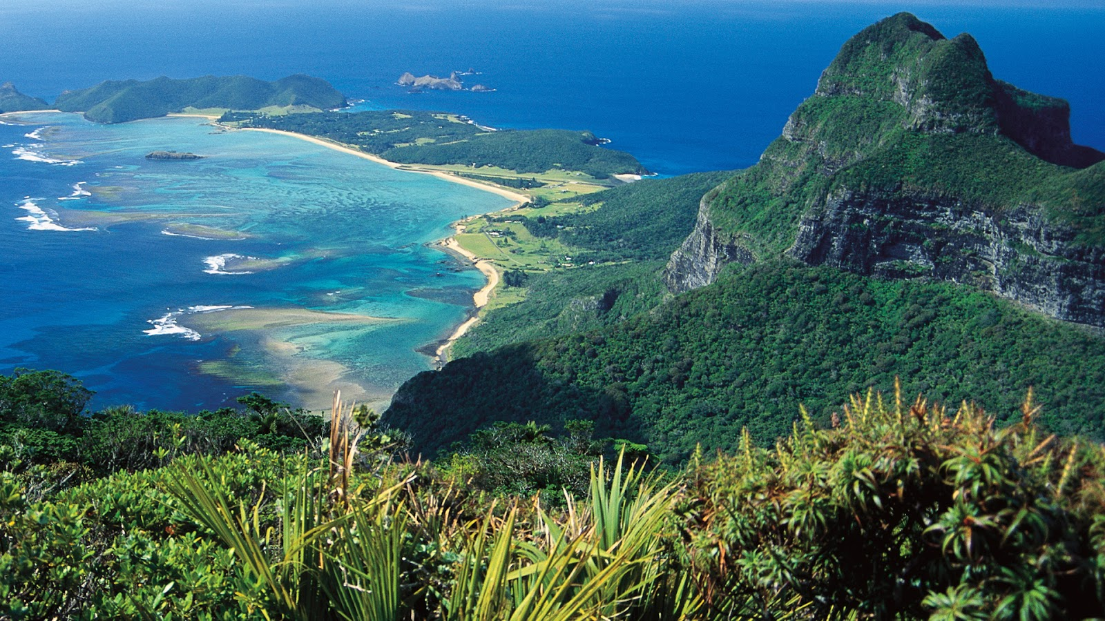 World Visits: Lord Howe Islands Tourists Attraction Place