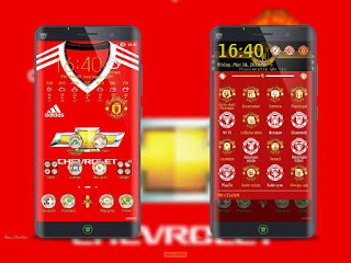Download Tema MU (Manchester United) Zenfone 2,4,5,6
