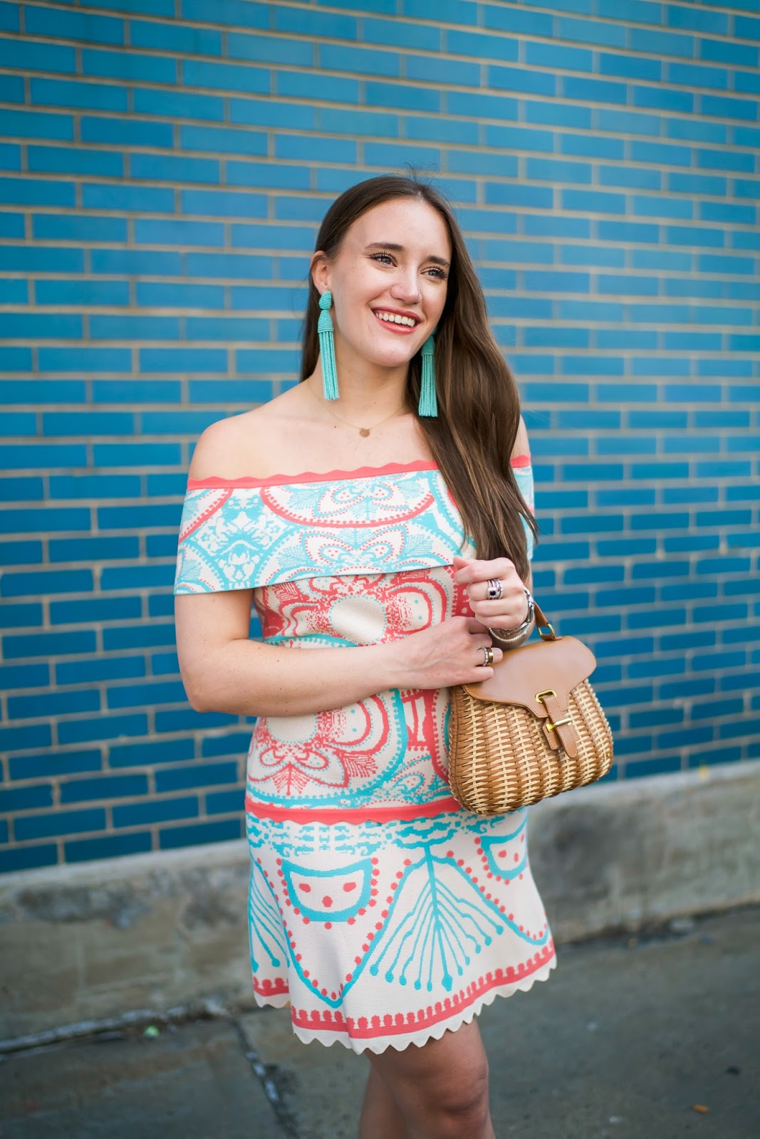 Wedding Look  styled by popular New York fashion blogger, Covering Bases