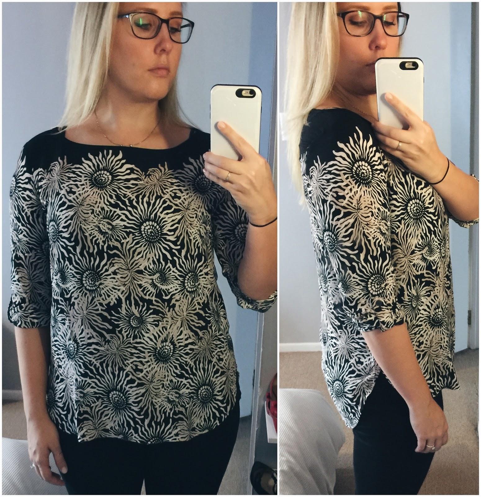 iced-floral-tab-sleeve-blouse