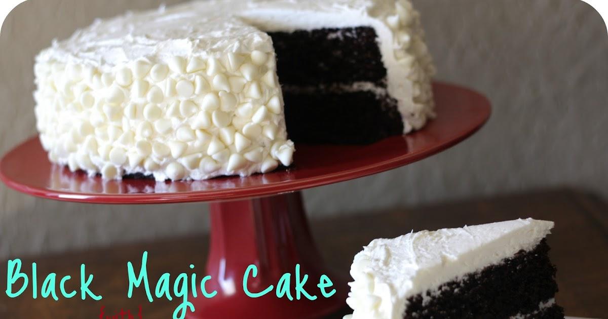 Icing For Black Magic Cake
