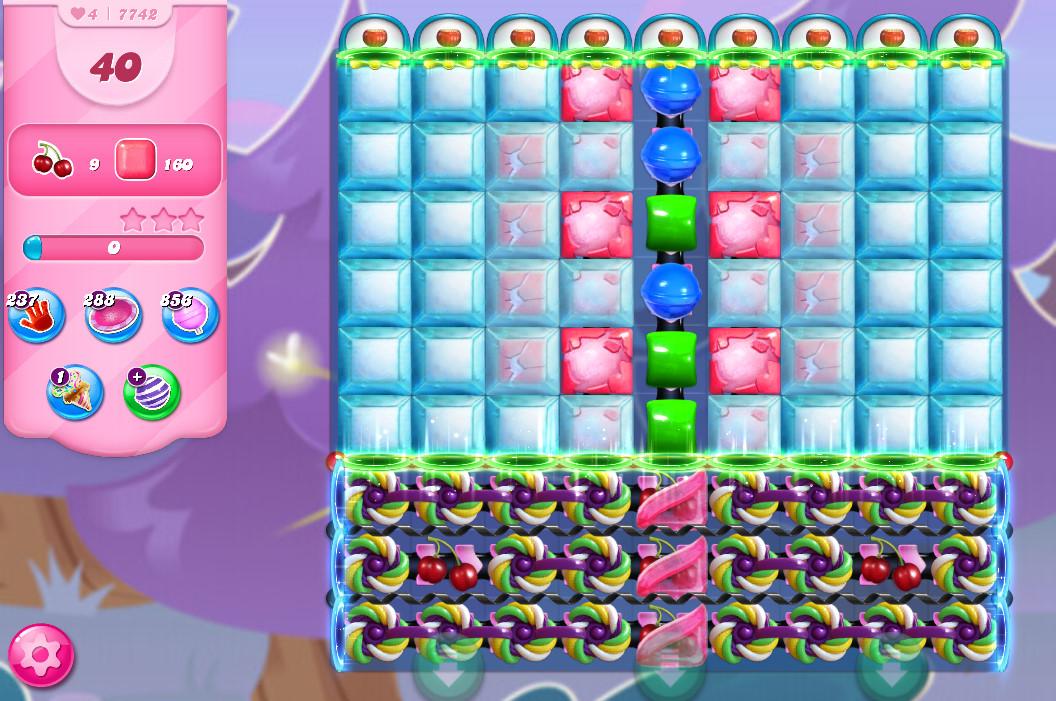 Candy Crush Saga level 7742