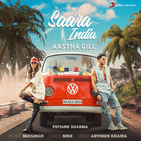 Saara India Lyrics - Aastha Gill ft. Priyank Sharma - Punjabi Song 2019