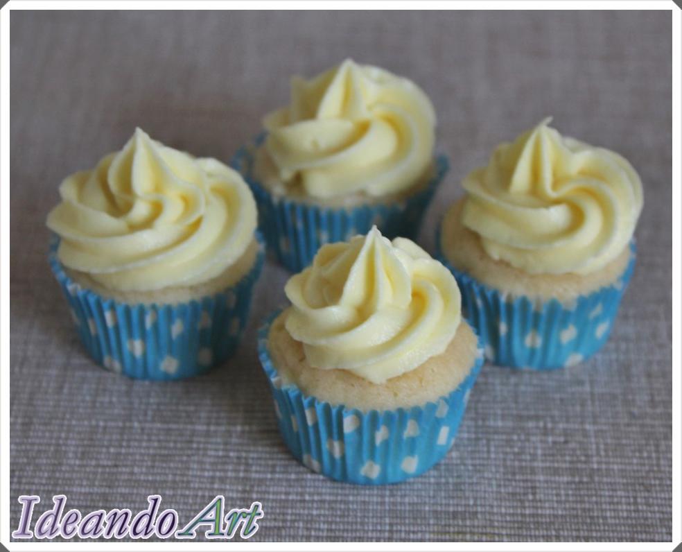 Cupcakes limón con buttercream