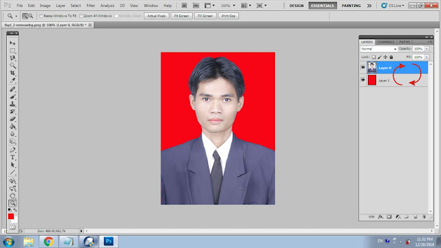 Cara Mengganti Background Foto Dengan Cepat