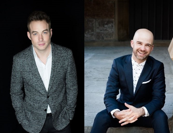 BEST ARTISTS OF 2016: Tenors STEPHEN COSTELLO (left) and ZACHARY WILDER (right) [Photos © by Merri Cyr/Askonas Holt (Costello) and Teddie Hwang/Hazard Chase (Wilder)]
