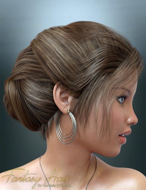 Fantasy Hair for Genesis 3 Female