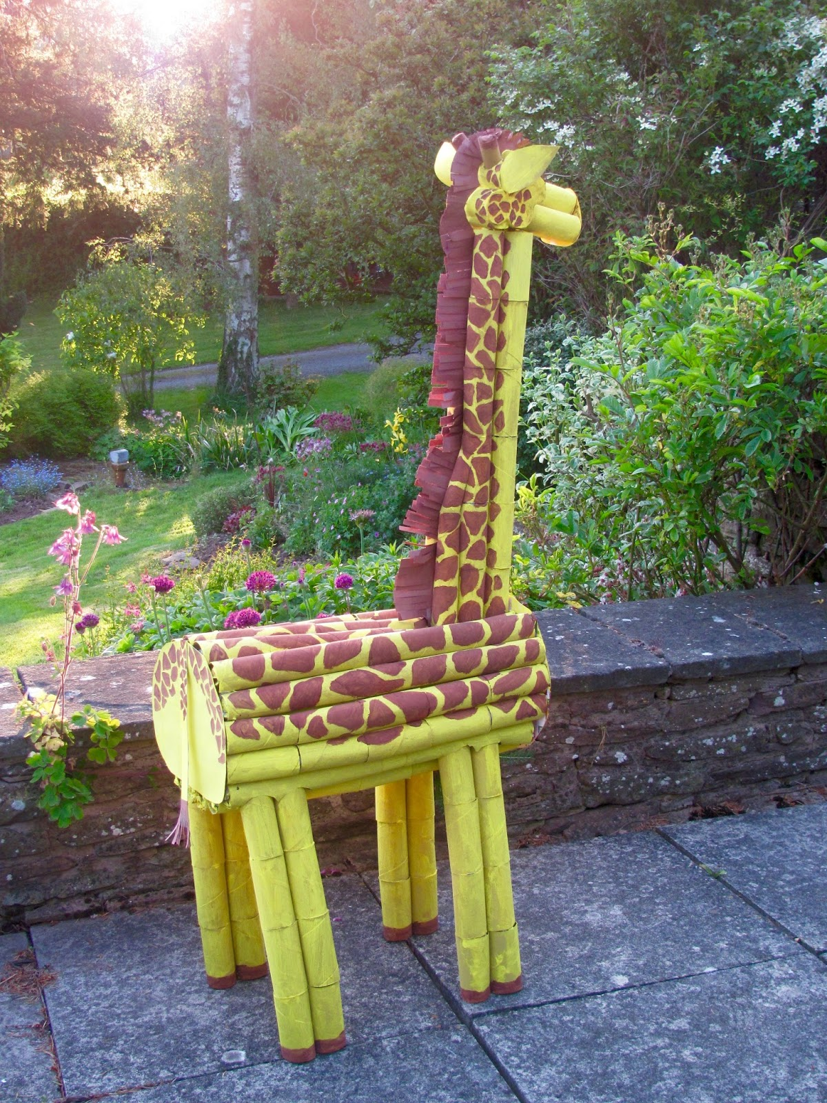 Heu0027ll be watching over me during the Make Your Own Zoo workshops in the Make and Take tent this Thursday. Weu0027d love to see you! & Jumble Tree: Thereu0027s a giraffe in my garden...