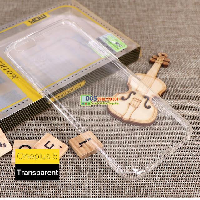 Ốp lưng điện thoại Oneplus 5 silicone dẻo bền đẹp