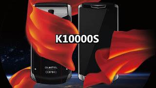 smartphone Oukitel K10000S baterai 10000mAh