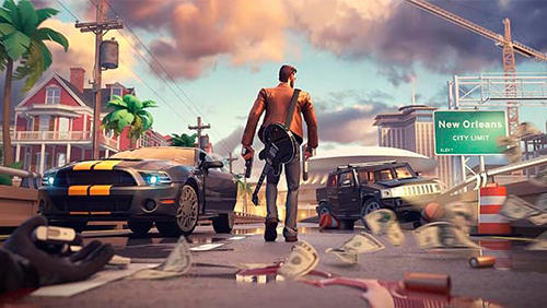 تحميل لعبة Gangstar New Orleans OpenWorld الشبيهة بلعبة GTA5 لهواتف الاندرويد والأيفون مجانا