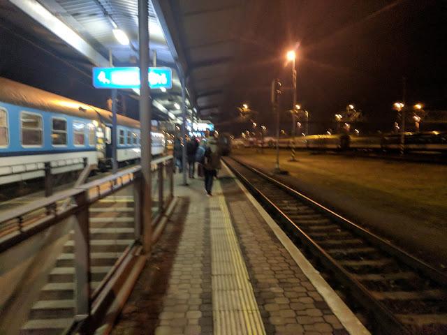 Станция Богумин в Чехии