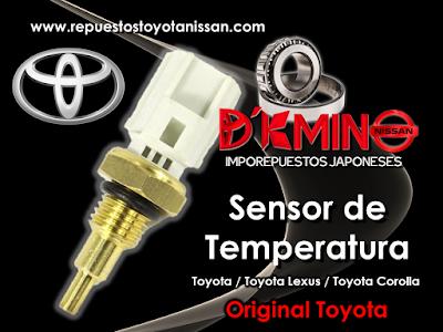 Sensores Toyota