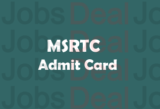 MSRTC Admit Card 2017