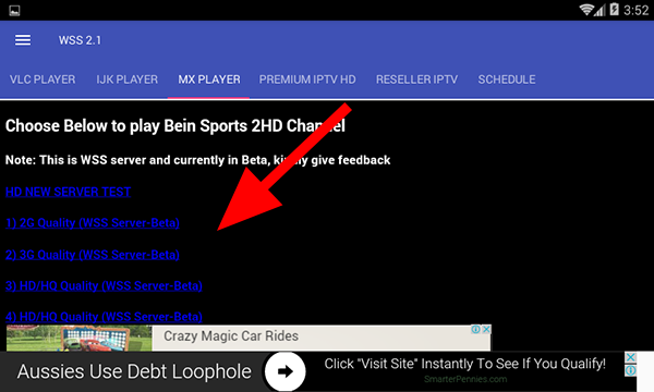 Best application to watch free encrypted sports channels