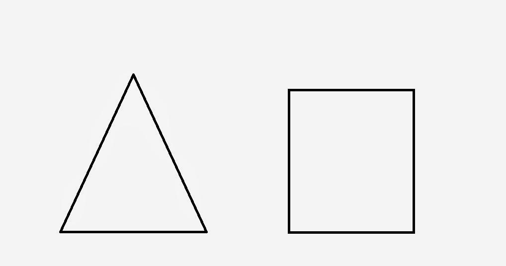 Desenhos Para Colorir / Para Pintar: Figuras Geométricas