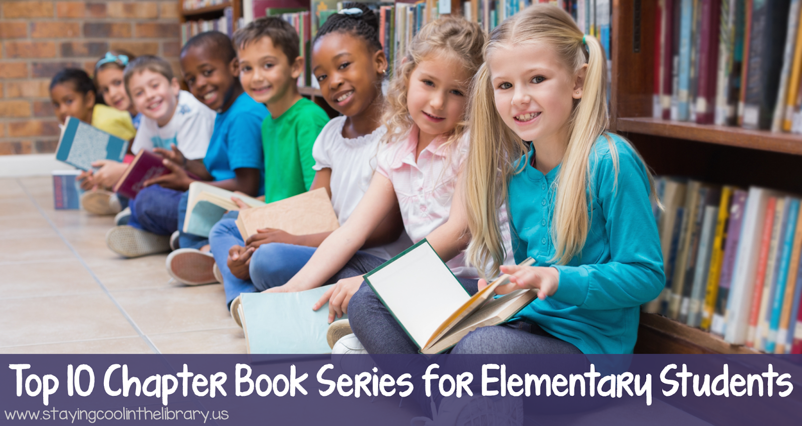 top 10 chapter book series for elementary students staying cool in