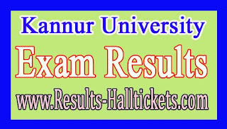 Kannur University M.P.Ed IVth Sem May 2016 Exam Results