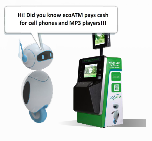 Amazing Technology: ecoATM: Get Money For Your Old Phones and Mp3