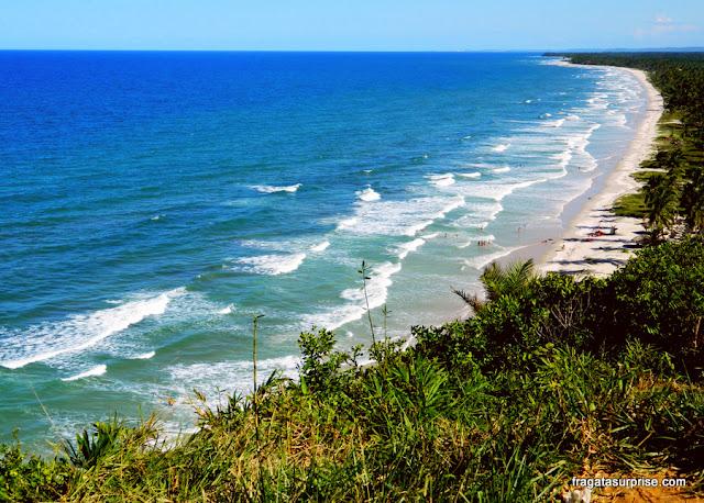 Caminho para Itacaré, Bahia - Mirante da Praia Pé de Serra