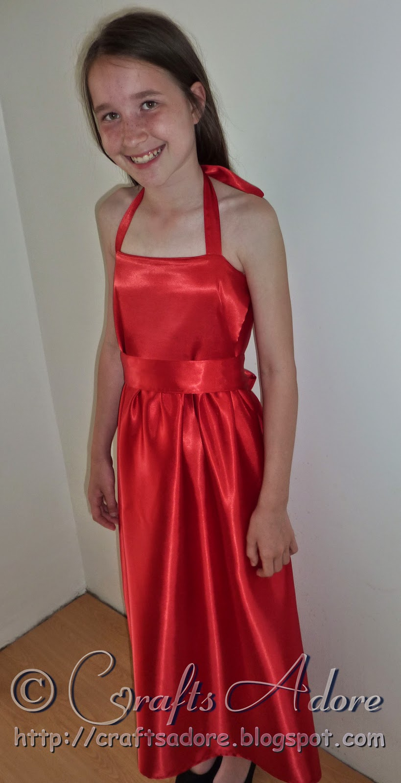 Craftsadore Sewing Prom Dress From Free Dress Sewing Tutorial