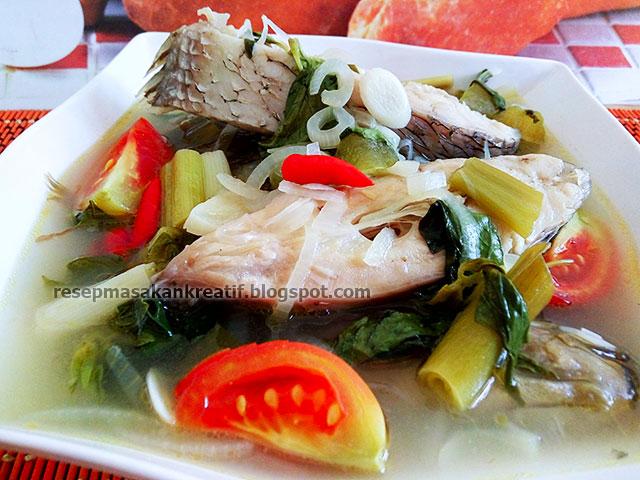 Resep Kue Ikan Jepang: RESEP SUP IKAN GURAME ENAK KUAH BENING