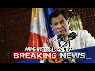 BREAKING NEWS TODAY AUGUST 21 2019 PRES DUTERTE l MAYOR ISKO MORENO