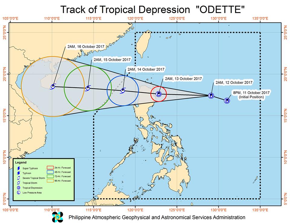 'Bagyong Odette' PAGASA TRACK