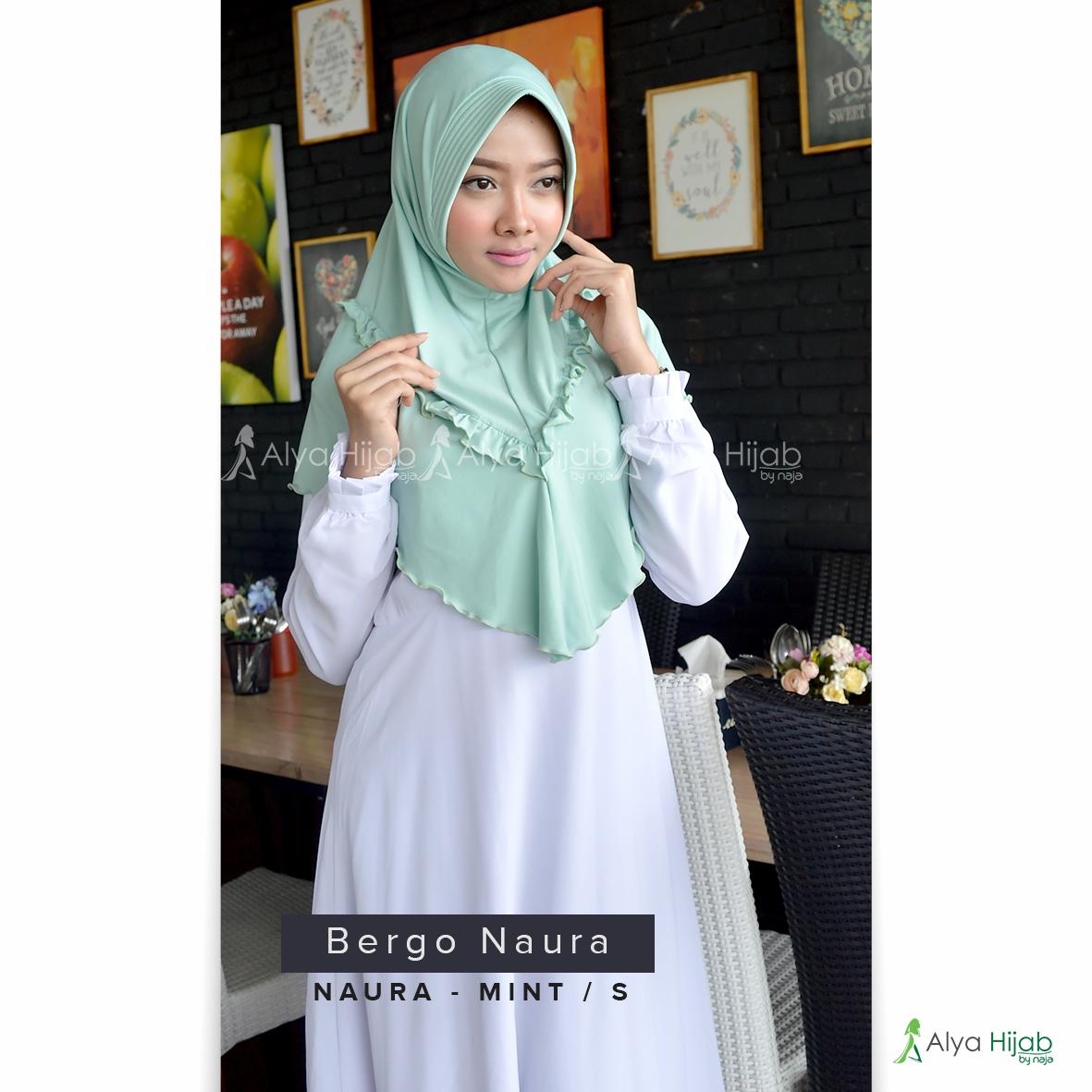 Jilbab Terbaru 2017 Bergo Naura Alya Hijab By Naja Jual