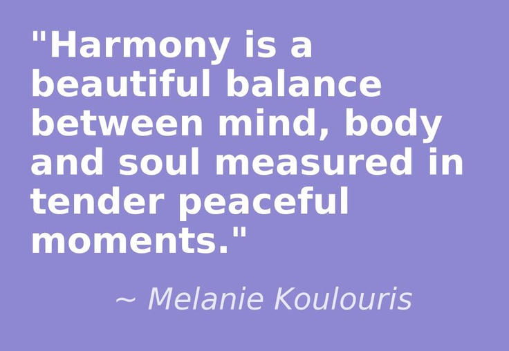 Peace And Harmony Inspirational Quotes. QuotesGram