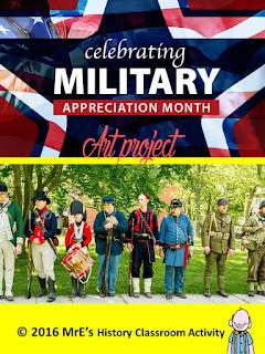 https://www.teacherspayteachers.com/Product/HISTORY-Military-Appreciation-Month-project-2558404