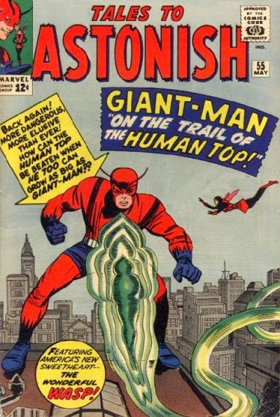 Tales to Astonish #55, Giant-Man vs the Human Top