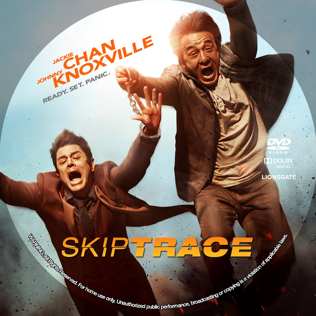 Skiptrace DVD Label