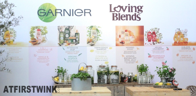 Garnier Loving Blends hair care range