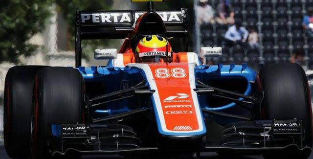 Kualifikasi GP Hungaria, Rio Haryanto Keluar Lintasan