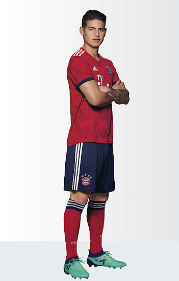 new style 3ced8 34e0e Bayern München 18-19 Home Kit Released - Footy Headlines