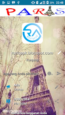 BBM Mod Love In Paris Full DP